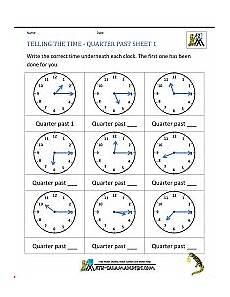 time worksheets ks1 quarter past 3066 clock worksheet quarter past and quarter to
