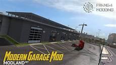 garage kaufen in modern garage mod v 1 2 mod for ets 2