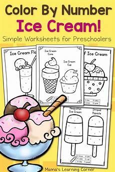coloring worksheets for pre k 12865 color by number worksheets for preschool preschool activities summer preschool
