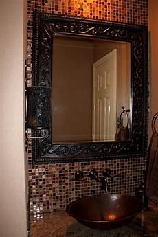 Bathroom Mirrors Mosaic by 31 Ideas Of Using Mosaic Tile Around Bathroom Mirror