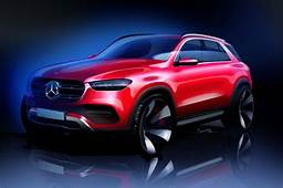 Mercedes Benz Teases 2020 GLE Luxury SUV