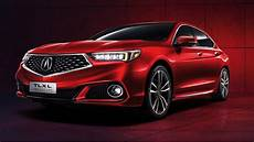 acura tlx l proves size matters by getting longer wheelbase