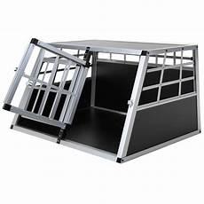 Jalano Doppel Hundetransportbox S Auto Gitterbox Hunde Alu