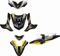 Modif Stiker Beat by Jual Modifikasi Stiker Honda Beat Batman Spec B Di Lapak