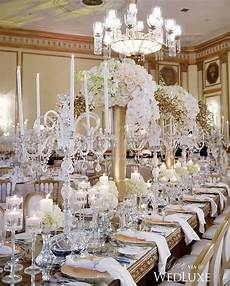 crystal candelabras instantly glamourize an already lush