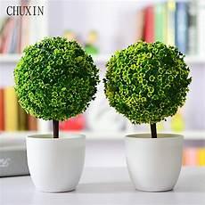 artificial plants ball bonsai fake tree decorative green plants for home decoration garden decor