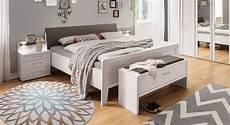 Komfort Doppelbett In Wei 223 Mit Kunstleder Kopfteil Casperia