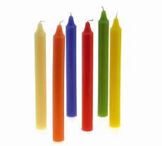 vendita candele candele candela cilindrica da candeliere colorata in