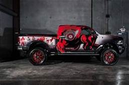 Vinyl Wrapped Ford F150  Sick Vehicle Wrap