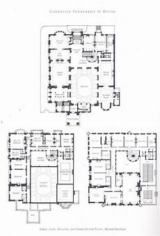vanderbilt housing floor plans william vanderbilt ii house mansion floor plan vintage