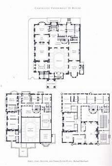 vanderbilt housing floor plans william vanderbilt ii house mansion floor plan vintage