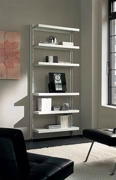 scaffali moderni scaffale in metallo big 15 a muro in acciaio bianco 85 x
