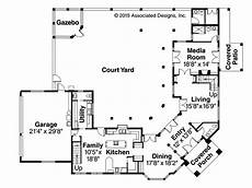 spanish courtyard house plans spanish courtyard mediterranean house plans home with