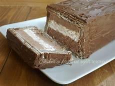 dolce con wafer semifreddo ai wafer con panna e cioccolato sicilian mascarpone and patisserie