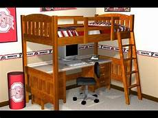 Loft Bed Plans How To Build A Loft Bed With Plans