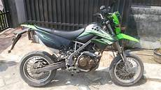Modifikasi D Tracker 150 Supermoto by Modifikasi Kawasaki D Tracker 150 Se Gaulotomotif