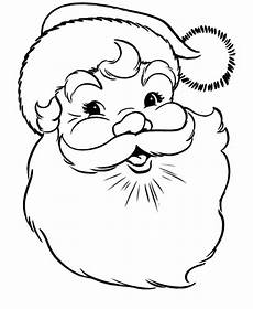 santa claus smiling coloring pages coloring sky