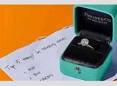 24 Tiffany Engagement Rings That Will Totally Inspire You