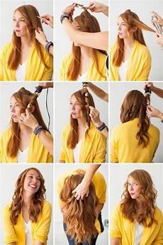 create curls with a hair straightener step by step hair
