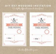 diy rustic chic wedding invitation in coral ahandcraftedwedding com invitations coral