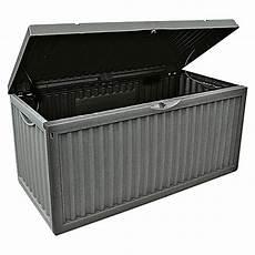 garten aufbewahrungsbox wave anthrazit 120 x 52 x 54 cm