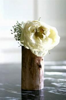 Vasen Selber Machen - coole deko ideen 21 selbst gemachte baumstumpf vasen