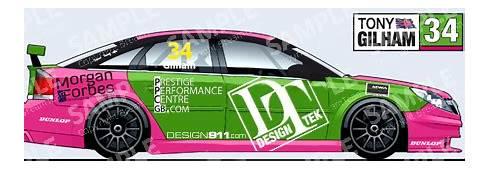 MSA British Touring Car Championship  Design911 Porsche