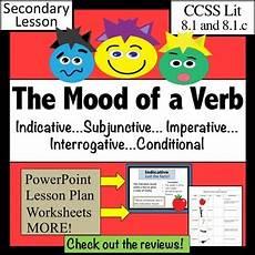 verb moods lesson plus by kroll teachers pay teachers