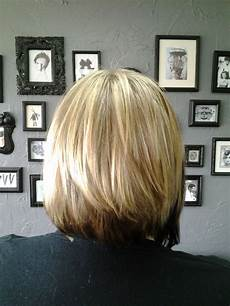 pictures of the back of a layered bob bob haircut kyra kyra back sarasota bradenton