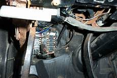 1968 Firebird Restoration Picture Of The Fuse Box
