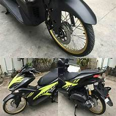 Modifikasi Yamaha Aerox by Modifikasi Yamaha Aerox 155 Vva Ring 17 Ban Cacing