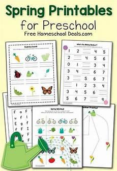 free spring printables for preschool instant download spring preschool worksheets and