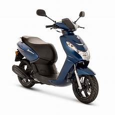 blue peugeot kisbee 50cc active 4t scooter scooter