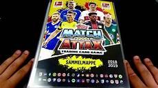 mappenupdate topps match attax 2018 2019 bundesliga