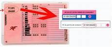 numero de permis de conduire sur nouveau permis le n 176 de dossier sur un permis nouveau format ants site permis de conduire