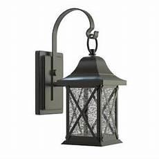 allen roth 8 9 in h black dark sky led outdoor wall light 7800980671 outdoor wall lighting