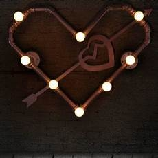 hua lovely heart shaped steam punk wall light in loft style steunk ages