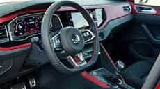 volkswagen polo gti interior design