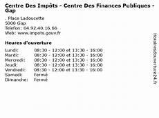 ᐅ Centre Des Imp 244 Ts Centre Des Finances Publiques Gap