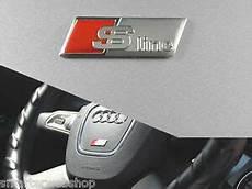 audi s line sline s line matt lenkrad wheel emblem