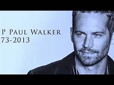 The Mysterious Of Paul Walker