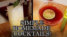 easy cocktail recipes to make at home behind the drink