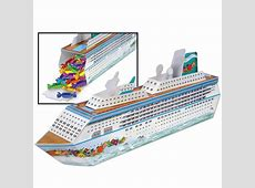 Cruise Ship Centerpiece Favor Box: Party at Lewis Elegant