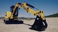 how to properly park cat mini excavator foley equipment