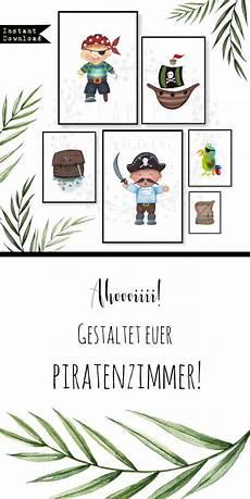 Poster Kinderzimmer 6er Set Instant Piraten