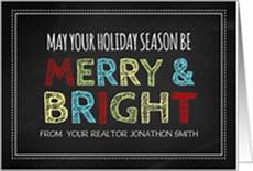merry christmas realtor images real estate industry christmas cards from greeting card universe