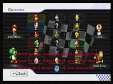 Mario Kart Wii Multiplayer Character Glitch