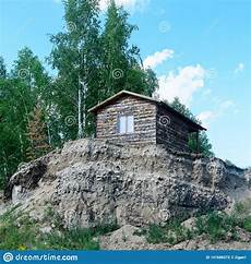 The House Stands On A Cliff