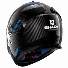 Shark Spartan Carbon - shark spartan carbon silicium carbon blue anthracite
