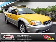 baja yellow 2003 subaru baja sport gray interior gtcarlot com vehicle archive 71337143